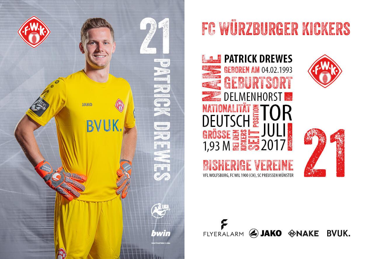1 Mannschaft Fc Würzburger Kickers Würzburg