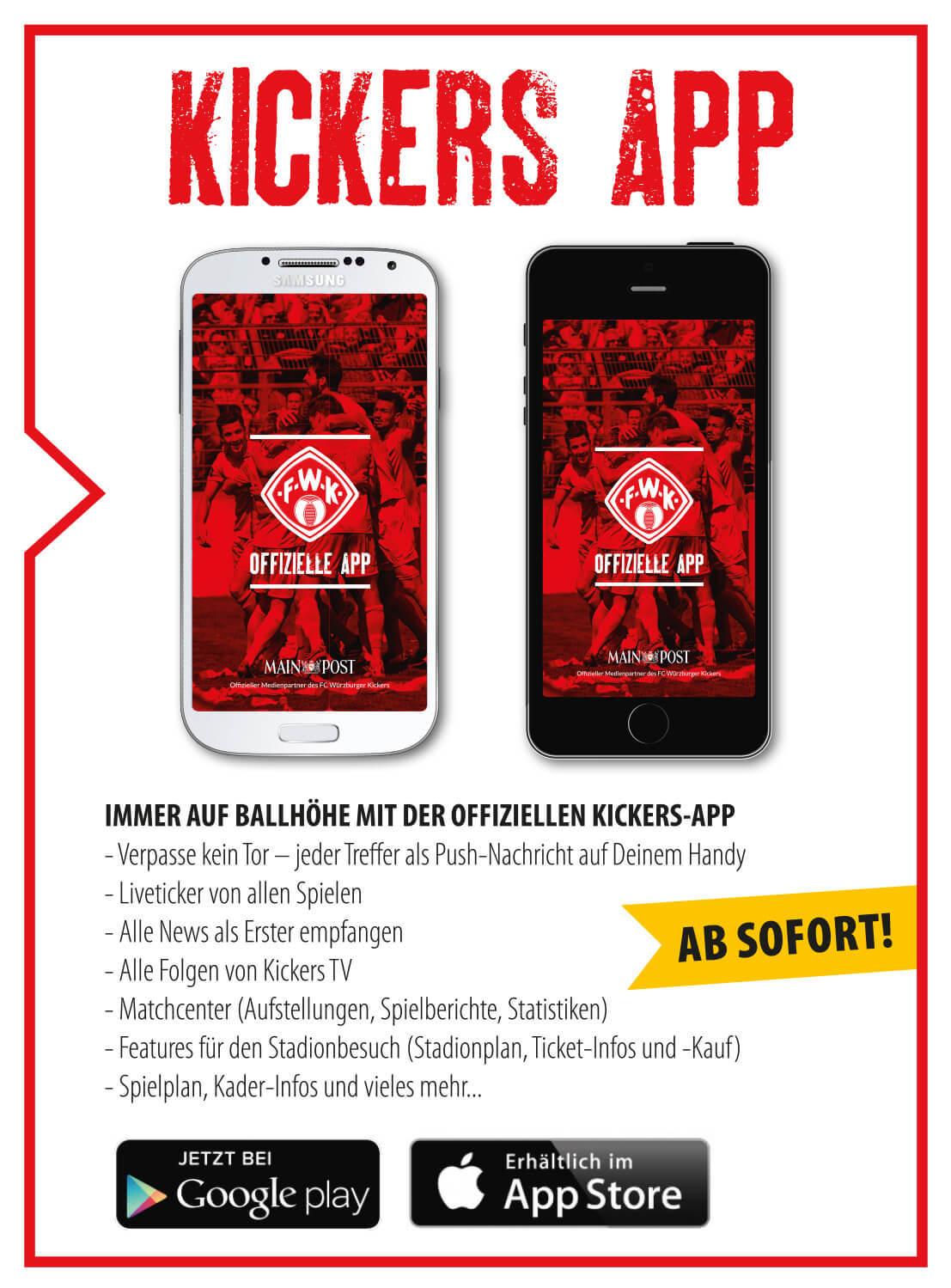 WГјrzburger Kickers App